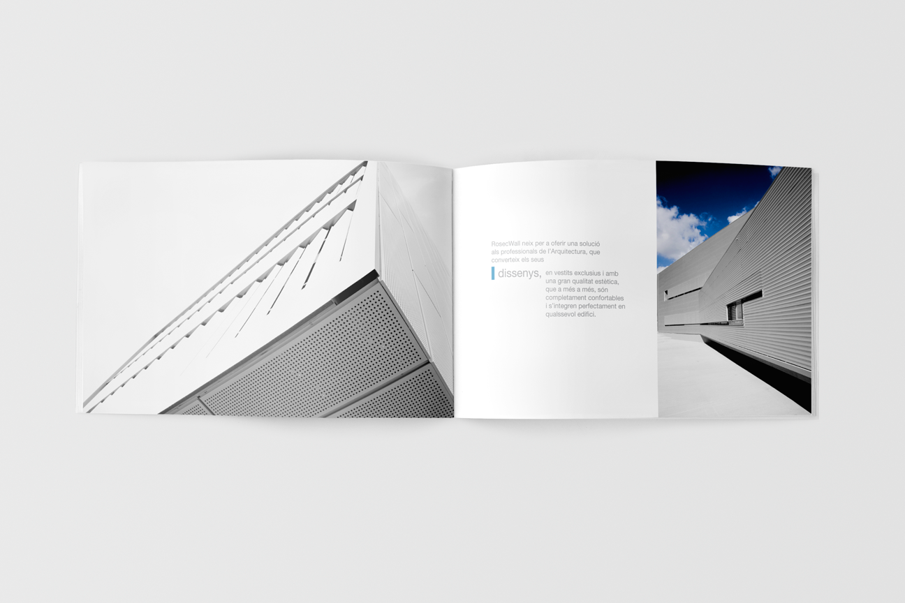 Corporate identity for Rosecwall